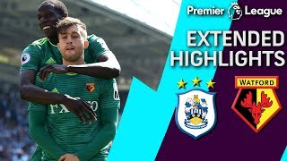 Huddersfield v. Watford | PREMIER LEAGUE EXTENDED HIGHLIGHTS | 4/20/19 | NBC Sports