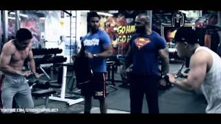 "Biceps and Triceps Workout with CT Fletcher- ""At least give it a try!"""