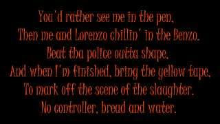 Rage Against The Machine - Fuck Tha Police (with Lyrics)
