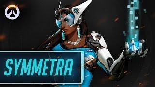 Os Heróis de Overwatch - Symmetra