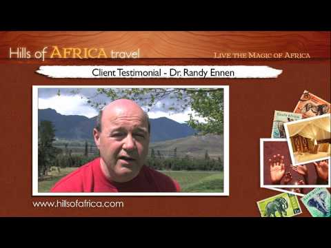 Soul Safari with Ainslie MacLeod: Testimonial (2) by Dr. Randy Ennen