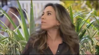 Patricia Abravanel in leather pants / calça de couro