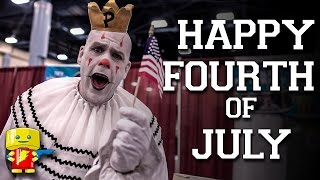 Happy Fourth of July from Puddles Pity Party and Florida Supercon