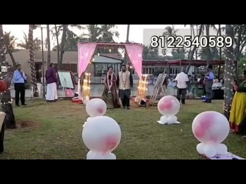 #Balloon Blast Entry New Concept Wedding Marriage Reception Event #Chennai #Goa +91 81225 40589