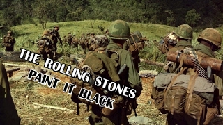 The Rolling Stones - Paint It Black (Vietnam war)