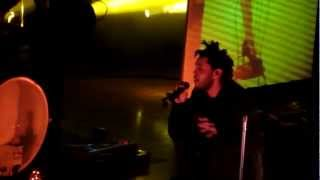 The Weeknd - The Morning - Live @ The Orpheum Theater 12-15-12 in HD