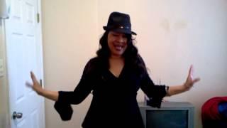 Kimberlyo Wright singing Diana Ross's upside down