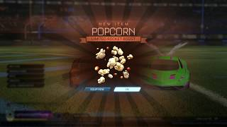 How To Get Free Popcorn Boost In Rocket League