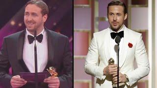 Ryan Gosling Impersonator Crashes German Award Show Leaves Nicole Kidman Stunned