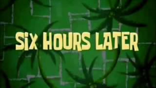 Download Six Hours Later Spongebob Time Card