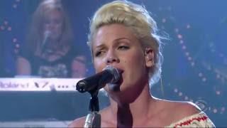 Pink - Who Knew ( Live HD ) Legendado