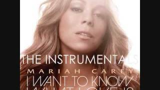 Mariah Carey-I Want To Know What Love Is INSTRUMENTAL/KARAOKE with playback vocals