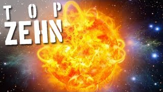 10 unglaubliche Fakten über die Sonne
