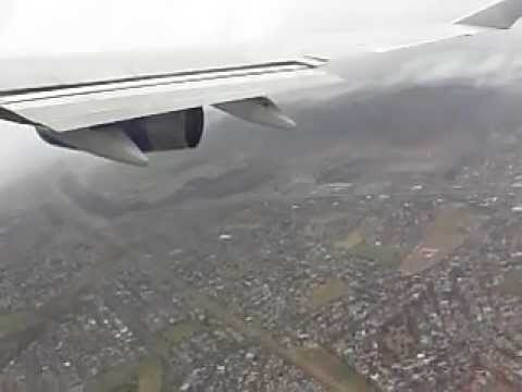Boeing 747-400 Takeoff in Storm at Cape Town – British Airways