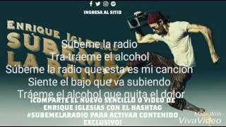 Enrique Iglesias Subeme la Radio Lyrics