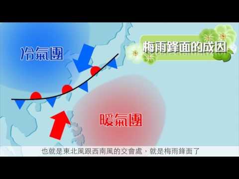 梅雨鋒面與西南氣流(2017版)