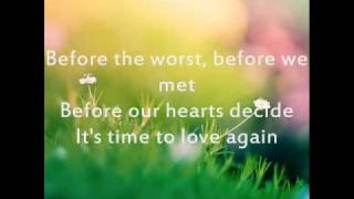 Before The Worst by The Script (with lyrics)