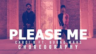 Please me - Cardi B feat. Bruno Mars | Choreography |