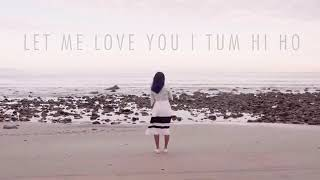 Let me love you ,,,i want give up na na i dont give up na na let me love you
