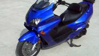 2006 HONDA 250 REFLEX SCOOTER $1900 WWW.RACERSEDGE411.COM RACERS EDGE