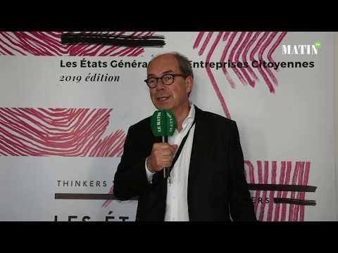Video : États Généraux des Entreprises Citoyennes : Déclaration de Pierre Coppey, DGA VINCI