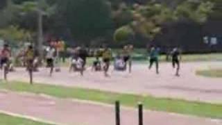 100 metros varones final metropolitano mayores lima-peru