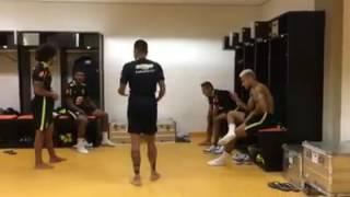 Brazil Squad Dance• Marcelo• Neymar • etc.