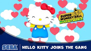 Super Monkey Ball: Banana Mania reveals Hello Kitty playable character
