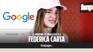Federica Carta, Raccomandata, Amici 16, Ti avrei voluto dire: le risposte alle domande di Google