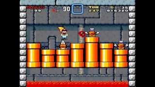 Super Mario World: #3 Lemmy's Castle