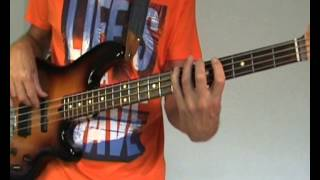 The Sweet - Fox On The Run - Bass Cover