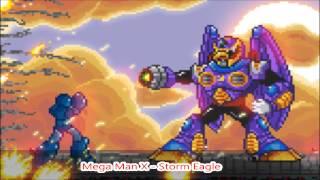Mega Man X Storm Eagle (Metal Cover)