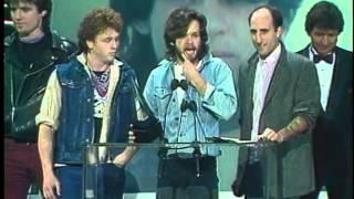 John Cougar Wins Pop Male - AMA 1983