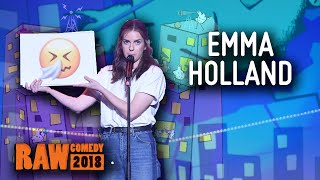 Emma Holland (ACT) - Runner Up, RAW Comedy National Grand Final 2018