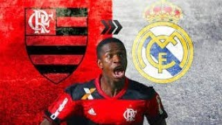 RAP DO VINICIUS JÚNIOR DO FLAMENGO🎶