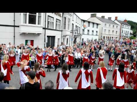 Llangollen International Eisteddfod Parade 2010.  Part 2