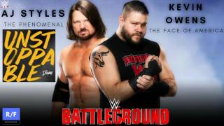 WWE Battleground 2017 Custom Theme Song - The Score - Unstoppable