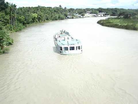 Tetulia River at Borhanuddin of Bhola