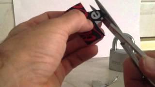 La manera más rápida de abrir un candado