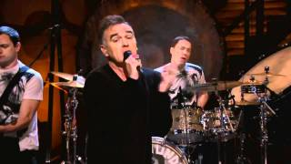 Morrissey - People Are The Same Everywhere  (live on Conan) Nov. 29th 2011