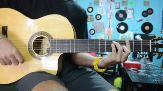 Cuchillos por el aire-Juanito Makandé (INTRO ACORDES COVER GUITARRA)