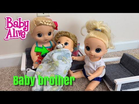Download Video Baby Alive New Baby Is Born Lulu Baby Brother Is Here
