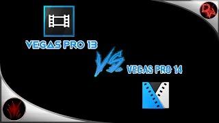 Sony Vegas Pro 13 Vs Vegas pro 14 Rendering Comparison