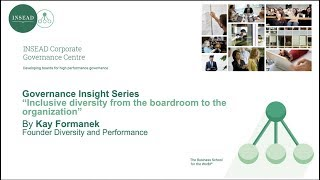 Role of Boards in Governance
