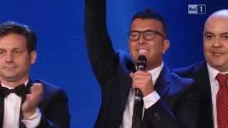 FRANCO RICCIARDI VINCE IL DAVID DI DONATELLO COME MIGLIOR CANZONE 10/06/14