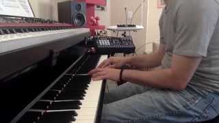 Max Richter - The Departure (The Leftovers) [piano cover w/ delay]