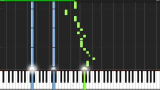 Red Like Roses - RWBY [Piano Tutorial] (Synthesia) // TheIshter