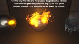 Amazing fire and water effects in Unreal Engine 4