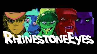 Rhinestone eyes (audio HQ) - GORILLAZ