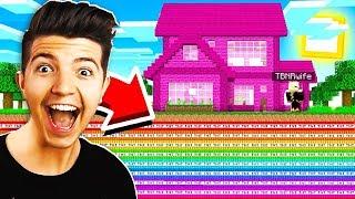 5 FUNNY MINECRAFT PRANKS on GIRLS! (Husband vs Wife Minecraft House Troll)